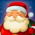 Père Noël Cadeau Machine à Sous Partie - avec le Bonhomme Ange et Renne Thème de Vacances Jeu