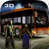Crazy City Bus Catcher smash Zombie 3D Car Game