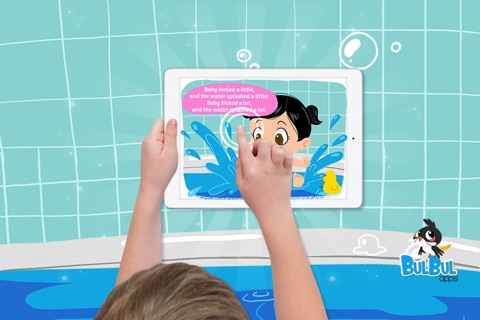Baby Bath Time - Cute Kids App - Hindi screenshot 2