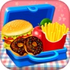 school lunch box - cooking games