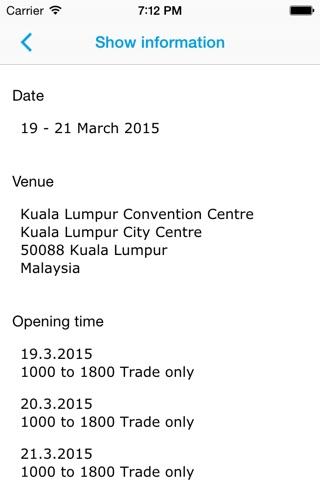 Automechanika Kuala Lumpur screenshot 4