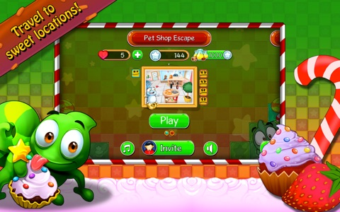 Candy Maze Free - The Sweet Puzzle Adventure for All Ages screenshot 1