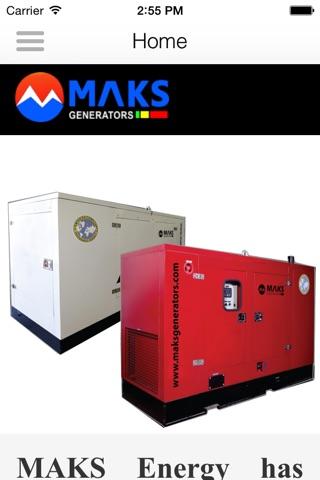 Maks generators screenshot 1