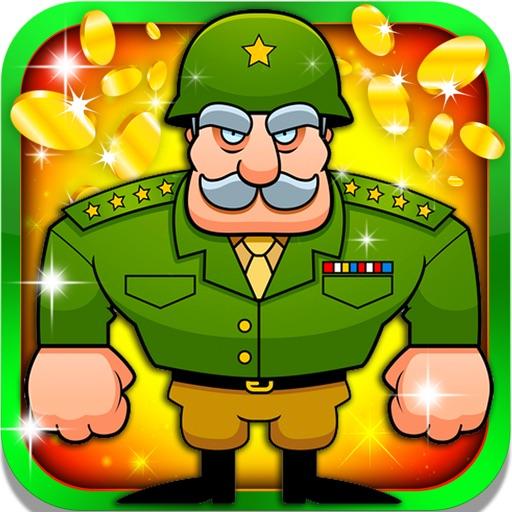 Modern War Casino Gambling Machine - rewards, great bonuses and tons of slot coins iOS App