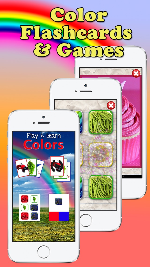 Play and Learn Colors - A Toddler Flashcard Game screenshot