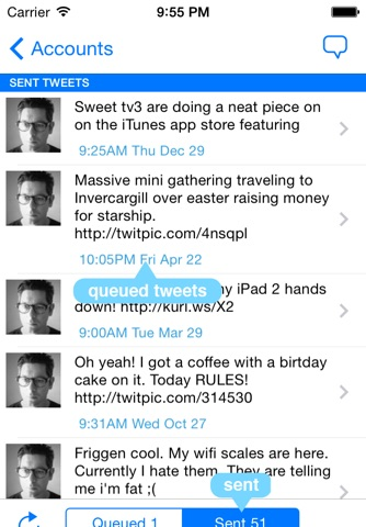 Tweetr - Schedule tweets for Twitter - Your Social Media Management Tool screenshot 2