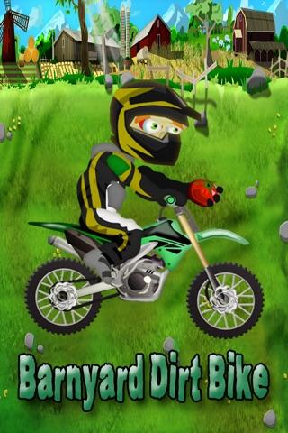 Barnyard Dirt Bike Moto X Racing - An action packed farmland dirtbike and motocross game screenshot 1