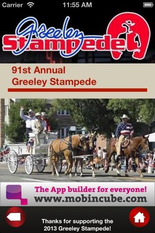 Greeley Stampede screenshot 2