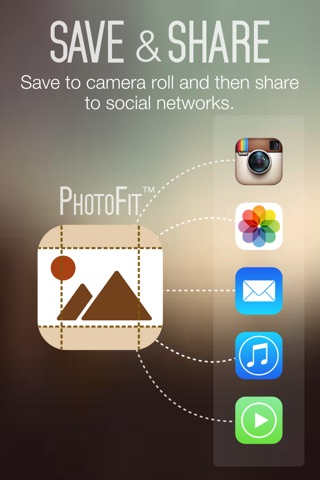 Photo Fit FREE - Convert Photos Pictures Images from any Size into Square Shape for Instagram screenshot 4