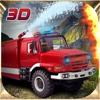 Fire Truck Hill Climbing 3D Simulator Game