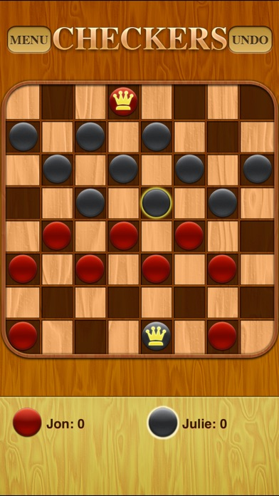 Screenshots of Checkers Free for iPhone
