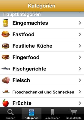 Rezepte screenshot 2