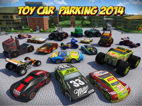 Screenshot #4 pour 3D Toy Car Parking Simulator 2014 - Cartoon Car, Bus & Truck Driving,  Parking & Racing Games Free