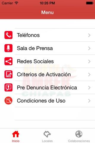 Alerta AMBER Chiapas screenshot 1