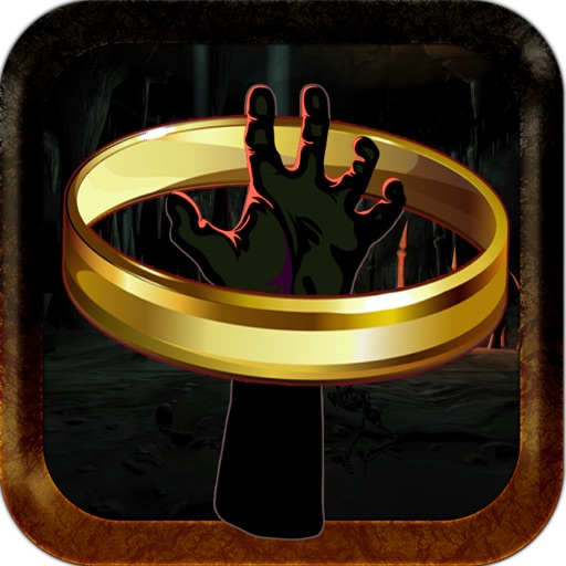 Scary Monster Creature Hand Ring Toss Throwing Challenge PRO iOS App