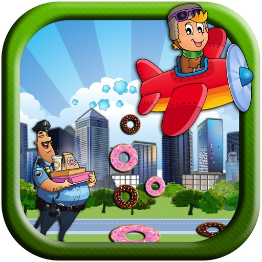 Donut Downpour: Feed the Police - Free iOS App