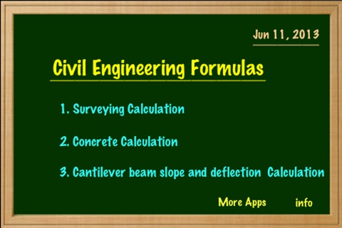 Civil Engineering Formulas screenshot 2