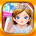 A Wedding Fashion Salon Spa Makeover - little make up casual kids games for girls! icon