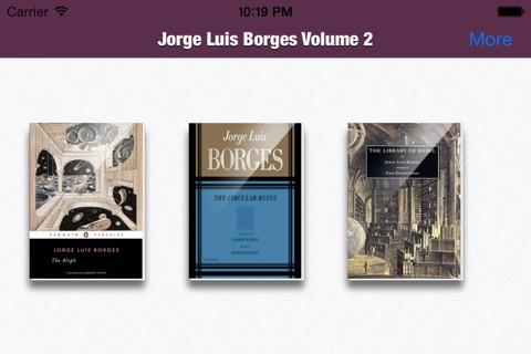 Jorge Luis Borges Collection Volume 2 screenshot 2