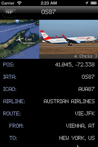 iPlane 2 - Flight Info + Status + Radar Tracker screenshot 2