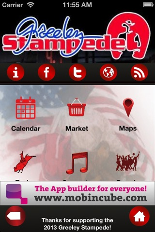 Greeley Stampede screenshot 1