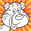 Colour Mix HD (Animal) - Children's Colouring Book App with Animal Pages