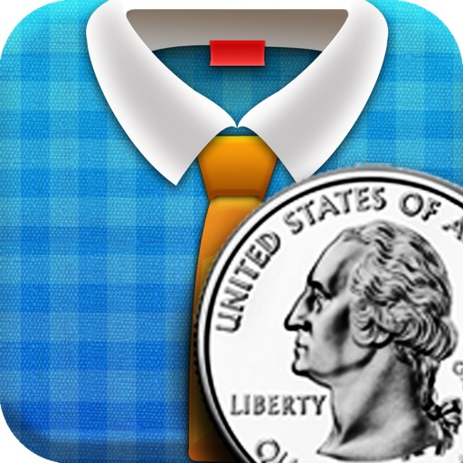 Awesome Laundry Coin(USD)_counting game for kids! iOS App