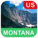 美国蒙大拿州 离线地图 - PLACE STARS icon