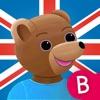 Englisch lernen – Spiel und Spaß mit dem kleinen Bären. App zum Englischlernen für Kinder mit pädagogisch wertvollen Spielen, Malvorlagen und Kinderliedern.
