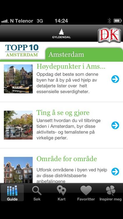 kart severdigheter amsterdam Amsterdam – Topp 10 by Gyldendal Norsk Forlag kart severdigheter amsterdam