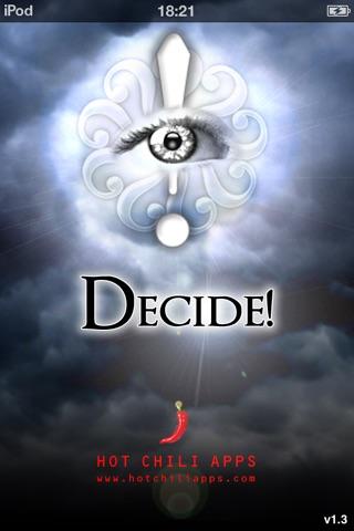 Decide! screenshot 1