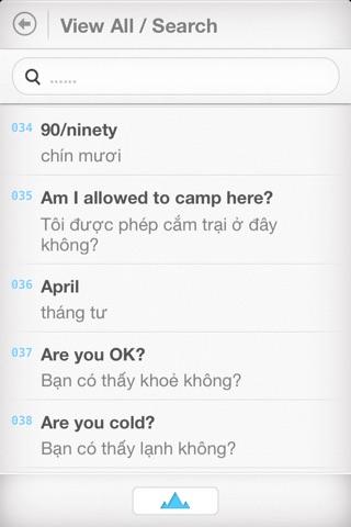 Vietnamese Travel Phrasebook screenshot 4