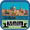 Malta Island Offline Map Travel Guide