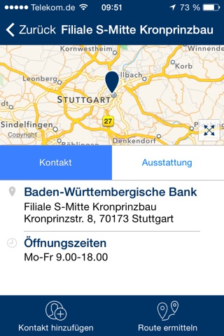 BW-Bank Filialfinder screenshot 3