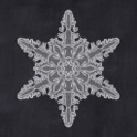 Snowflakes for iPhone icon