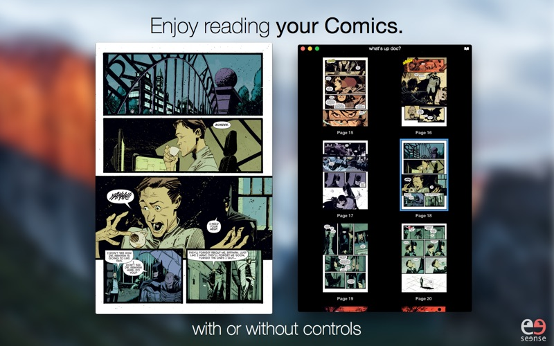 DrawnStrips Reader - The Best Comic Reader Screenshots