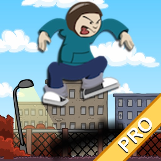 Skater Boy Pro - the fun free jumping, diving, fast paced skateboard game iOS App