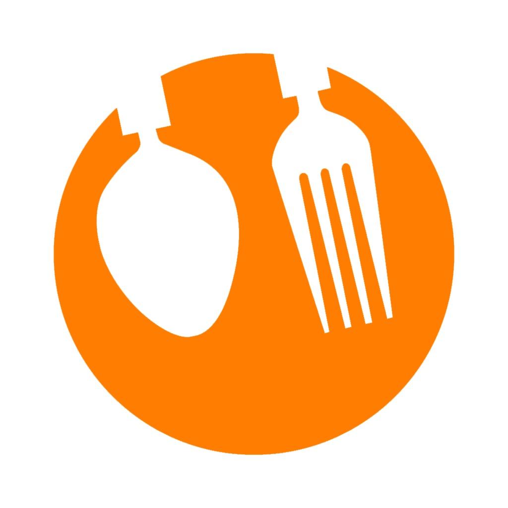 可爱吃货logo