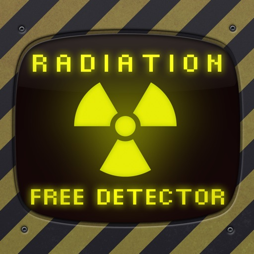 Radiation Detector Sensor - free geiger counter and meter to detect radioactivity iOS App