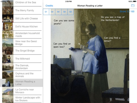 ArtsTwist Find It Rijksmuseum screenshot 1