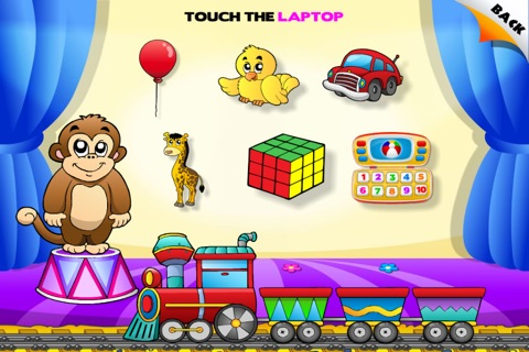 Toys Train • Kids Love Learning Toys: Fun Interactive Adventure Game with Animals, Cars, Trucks and more Vehicles for Children (Baby, Toddler, Preschool) by Abby Monkey® screenshot 4