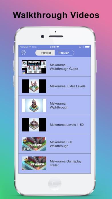 Cheats & Walkthrough for MekoramaСкриншоты 3