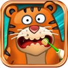 Tiger Goes To Dentist In The Woods - Play A Virtual Dental Assistant Game!