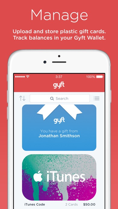 Gyft - Mobile Gift Card Wallet on the App Store