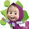 Masha`s Puzzle Game: Puzzle with characters of Masha and The Bear toon