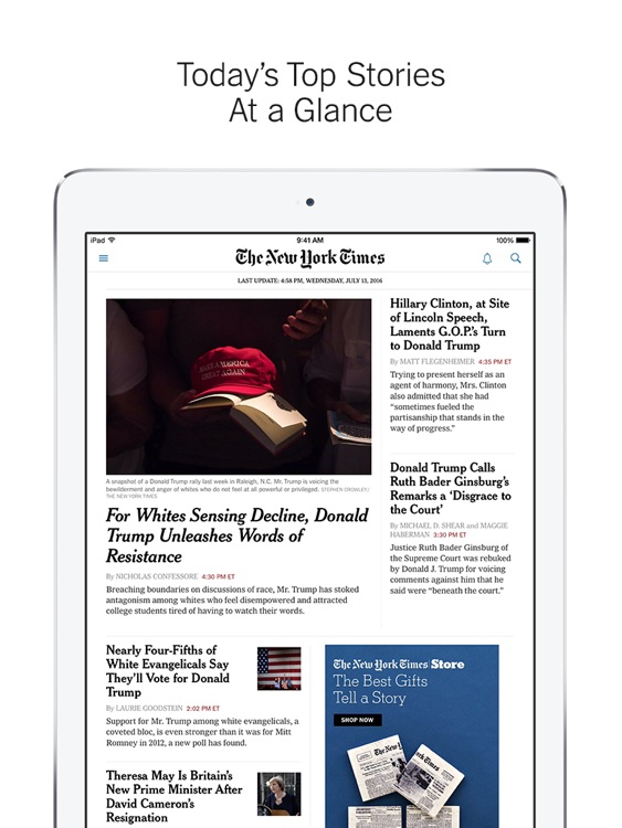nytimes breaking world national politics news by the new york