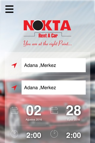 Nokta Rent A Car screenshot 1