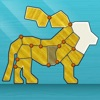 Shape Fold Animals: Origami challenge for kids, adults, beginners and experts