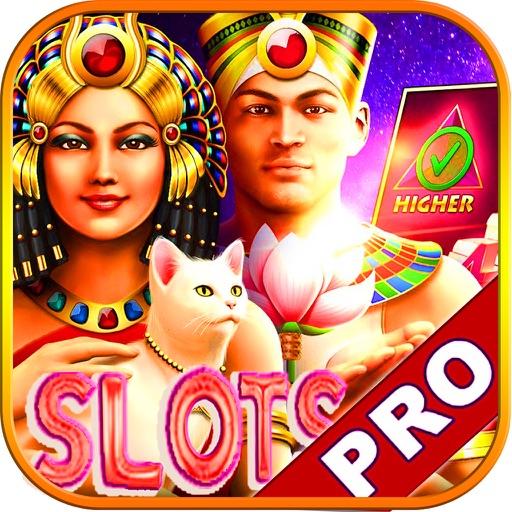 Absolusion Slots: Casino Slots Of Pharaoh's Machines Game Free! iOS App