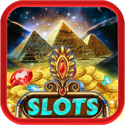 Treasures of the Pyramids Gold - Riches of Ra Egyptian Gods Slots Casino iOS App